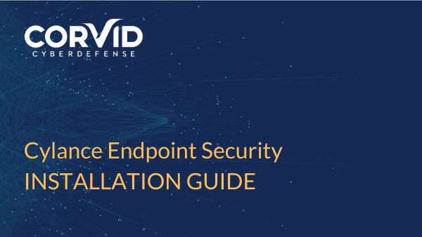 cylance endpoint security installation guide