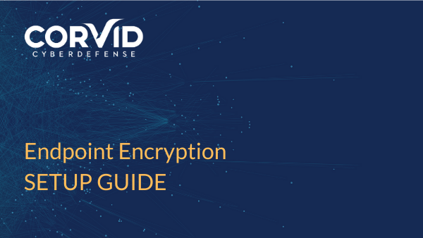 setup guide for endpoint encryption