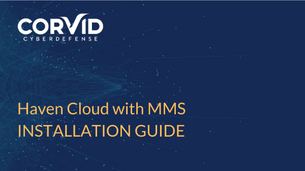 installation guide for Haven Cloud with MMS
