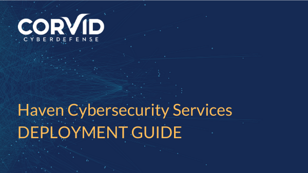 user guide for haven cybersecurity services