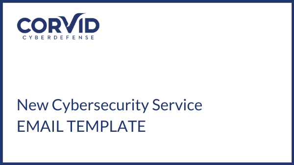 email template for new cybersecurity service