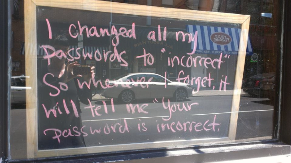 password privacy tips
